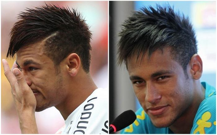 Все причёски неймара и их названия